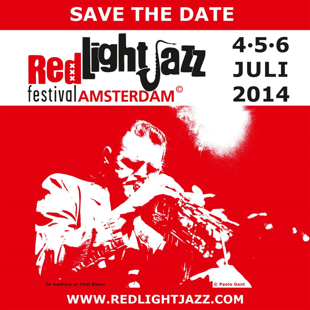 Red Light Jazz 2014 Safe the Date