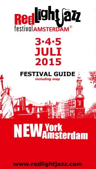 Red Light Jazz Festival Guide 2015 (front)