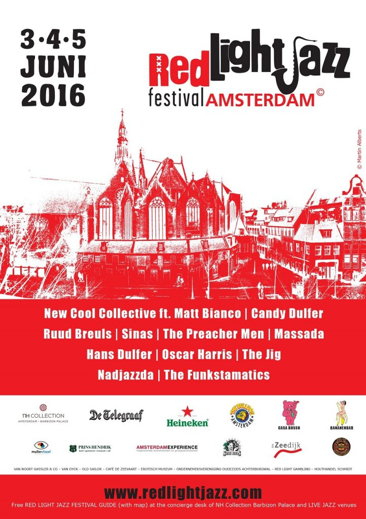 Red Light Jazz 2016 (flyer)