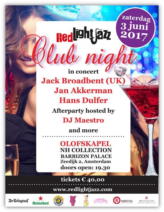 Red Light Jazz 2017 - Club Night (June 3)