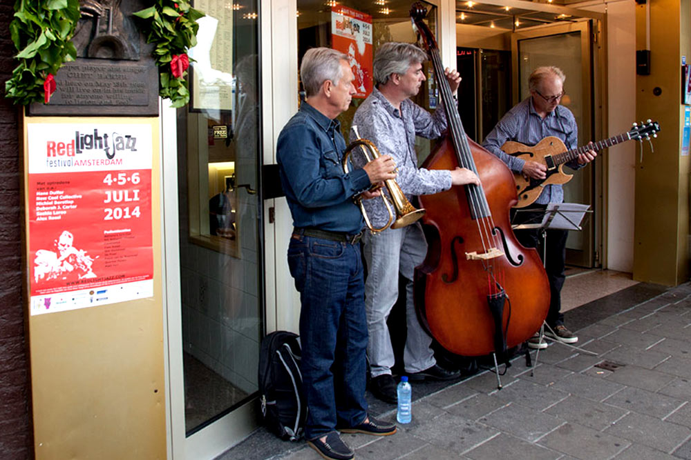 Red Light Jazz 2014 - Eerste Jazz festival op de wallen