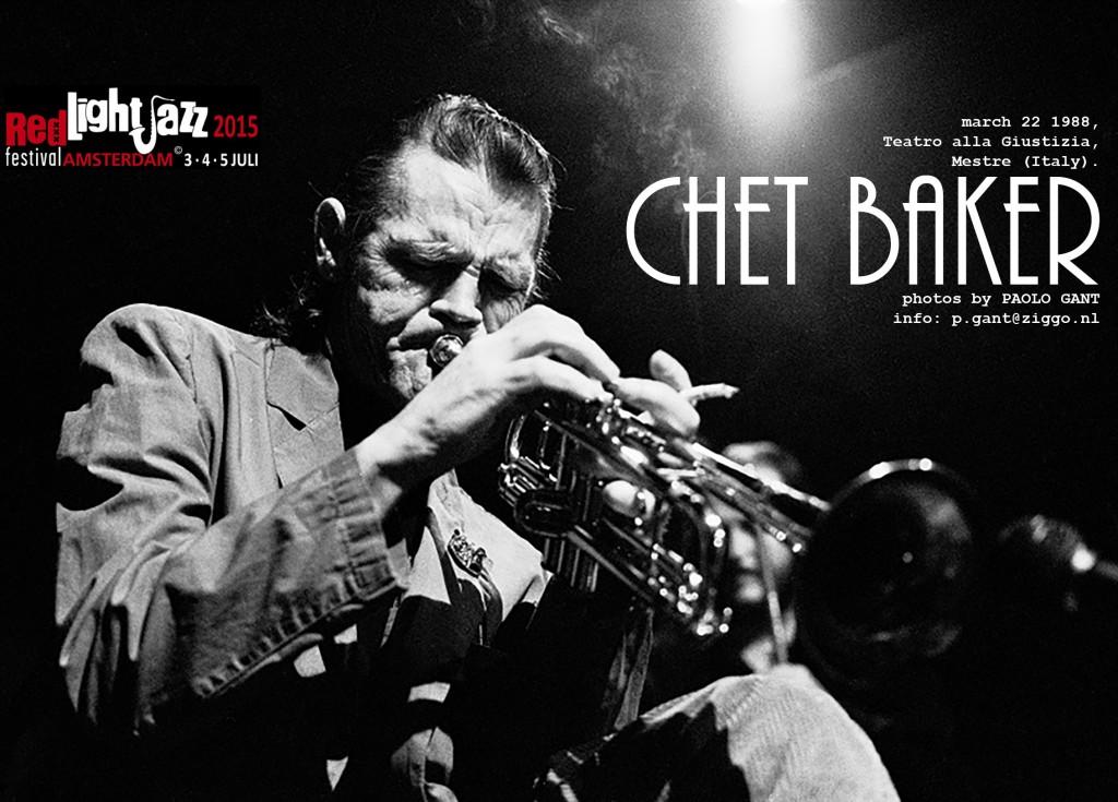 Chet Baker expo Red Light Jazz 2015
