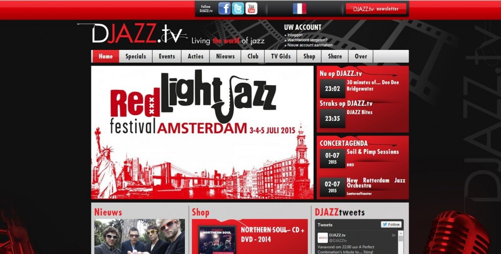 Red Light Jazz op DJAZZ TV