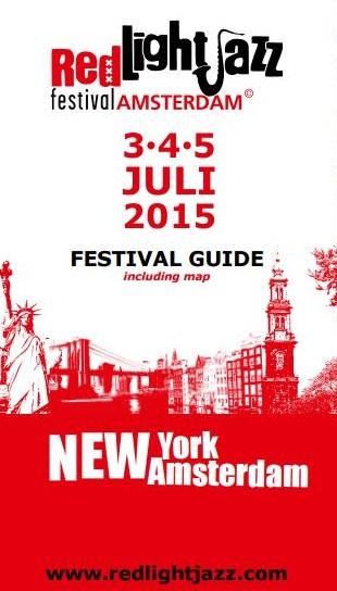 Red Light Jazz Festival Guide 2015 (front)