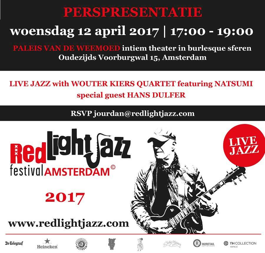 Red Light Jazz - Nieuws intro prespresentatie 2017