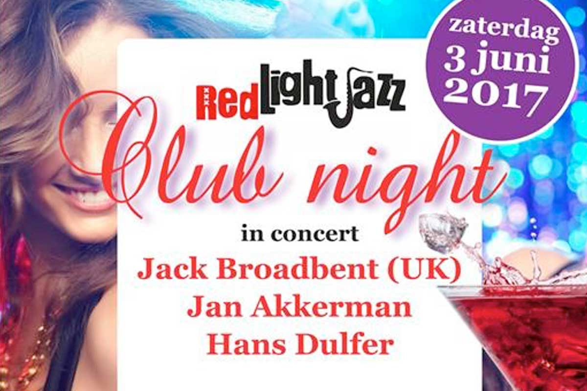 Red Light Jazz - Club Night