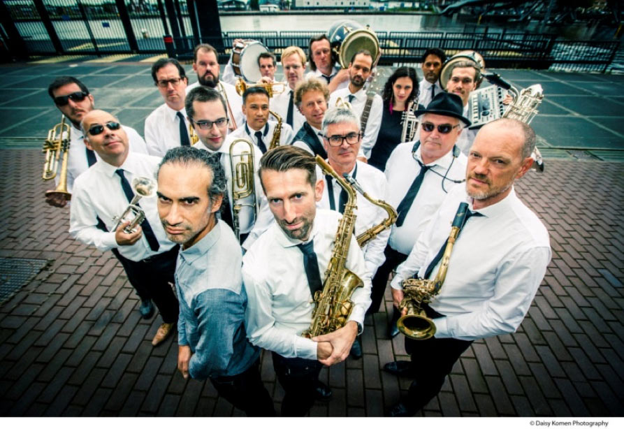 Amsterdam-Funk-Orchestra op Red Light Jazz 2018