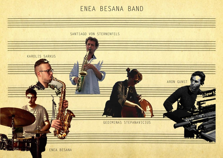 Enea-Besana-Band op het Red Light Jazz Festival 2018