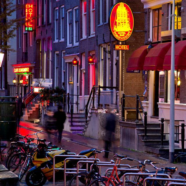 Red Light Jazz - Hotel-Torenzicht