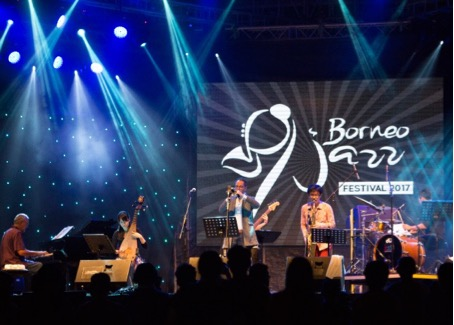 Red Light Jazz 2018 - Michael Simon's Asian Connection Borneo