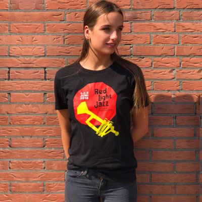 Red Light Jazz - Shirt-Jubileum 5 jaar