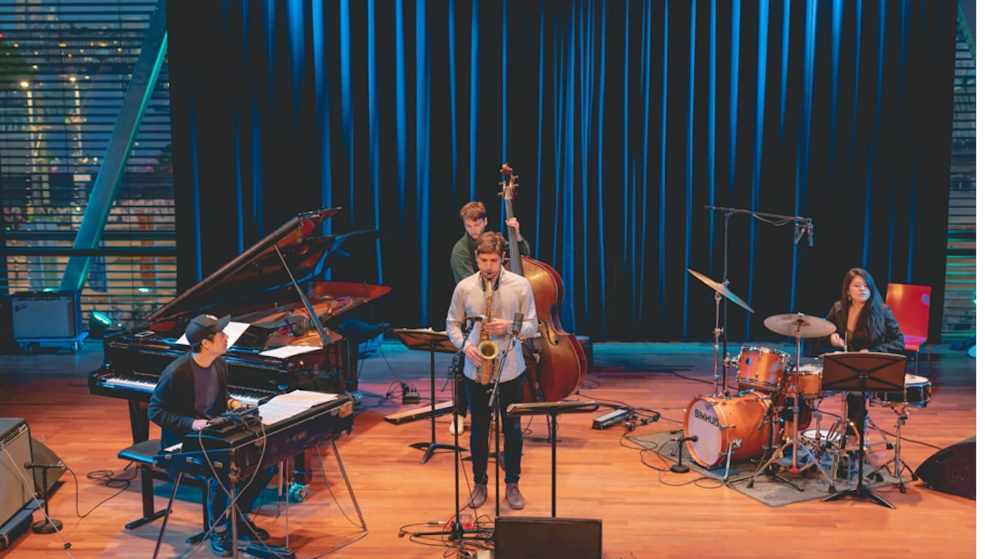 Youngwoo Lee Quartet op het Red Light Jazz festival 2020